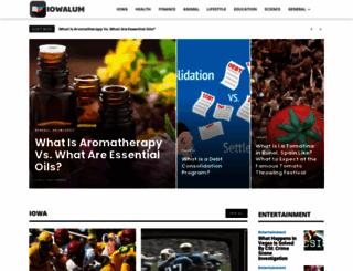 iowalum.com screenshot