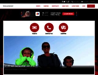 iowaspeedway.com screenshot