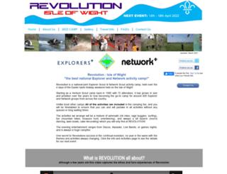 iowrevolution.org screenshot