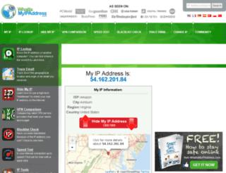 ip-address-search.info screenshot