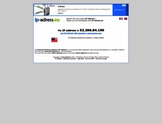 ip-adress.eu screenshot
