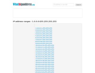 ip.whatisipaddress.org screenshot