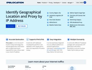 ip2location.com screenshot