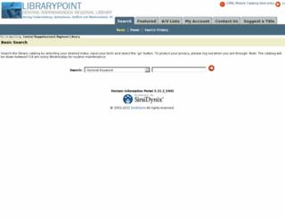 ipac.librarypoint.org screenshot