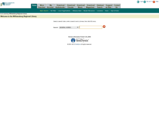 ipac.wrl.org screenshot