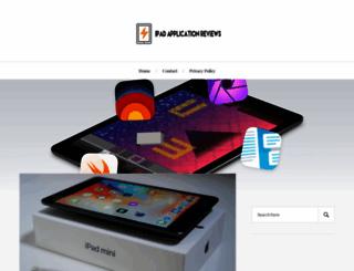 ipad-application-reviews.com screenshot