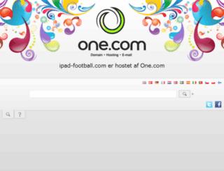 ipad-football.com screenshot