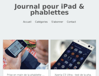 ipad-journal.fr screenshot