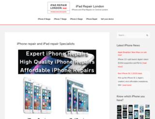 ipad-repair-london.co.uk screenshot