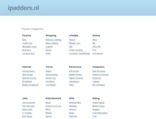 ipadders.nl screenshot