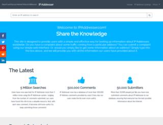 ipaddresser.com screenshot
