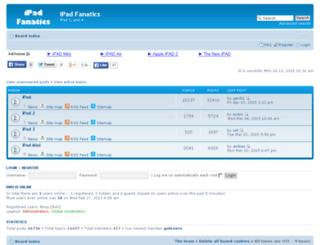 ipadfanatics.org screenshot