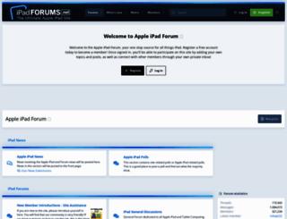 ipadforums.net screenshot