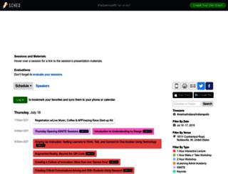 ipadpaloozain2015.sched.org screenshot