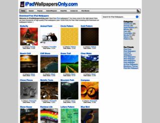 ipadwallpapersonly.com screenshot