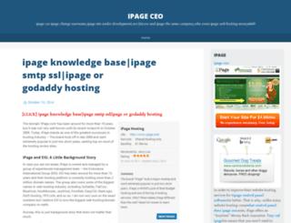 ipageceo80.wordpress.com screenshot