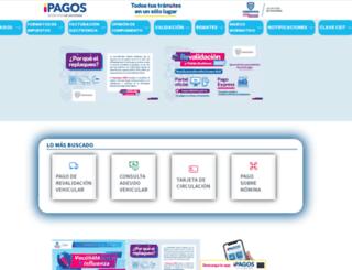 ipagos.chihuahua.gob.mx screenshot