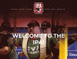 ipapower.com screenshot