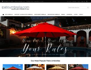 ipatioumbrella.com screenshot