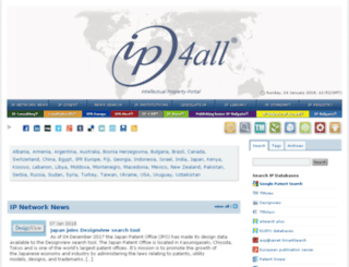 ipaustralia.ip4all.com screenshot