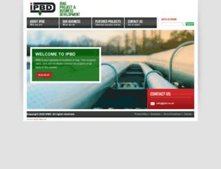 ipbd.co.uk screenshot