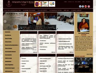 ipcollege.ac.in screenshot