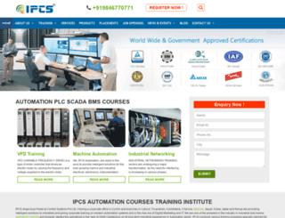 ipcsautomation.com screenshot