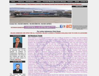 ipedpak.com screenshot