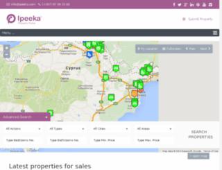 ipeeka.com screenshot