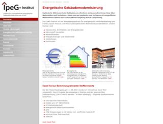 ipeg-institut.de screenshot