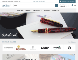 ipenstore.com screenshot