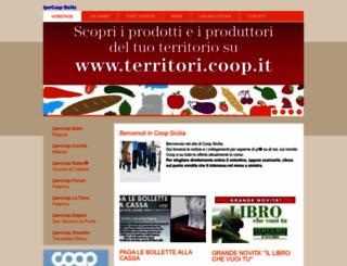 ipercoopsicilia.it screenshot