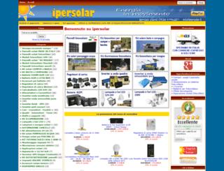 ipersolar.it screenshot
