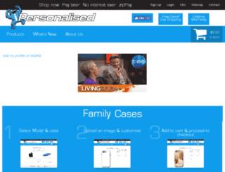 ipersonalised.com screenshot