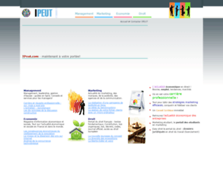 ipeut.com screenshot