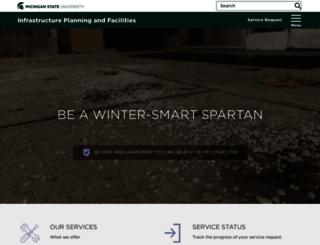 ipf.msu.edu screenshot