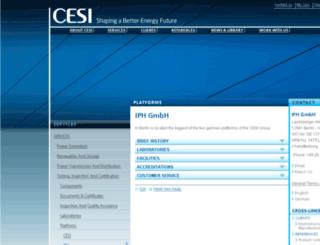 iph-berlin.de screenshot