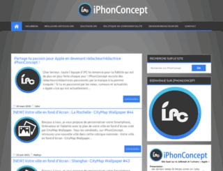 iphonconcept.com screenshot