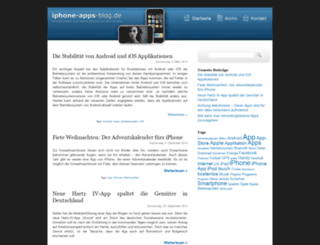 iphone-apps-blog.de screenshot
