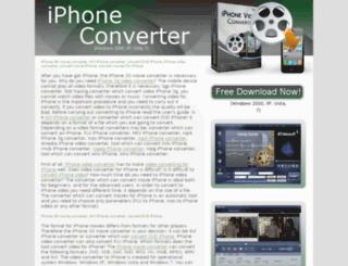 iphone-converter-software.com screenshot