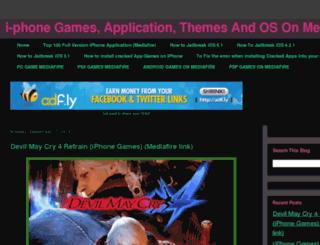 iphone-gamez-mediafire.blogspot.com screenshot
