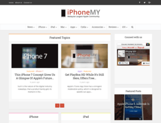 iphone-my.com screenshot
