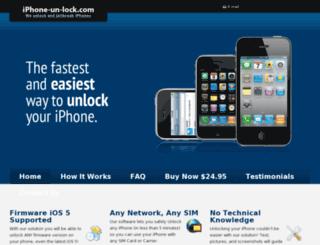 iphone-un-lock.com screenshot