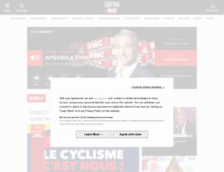 iphone.rmc.fr screenshot