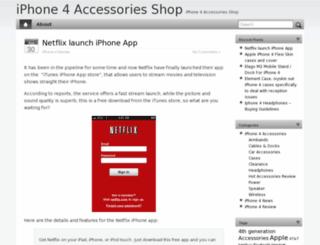 iphone4accessoriesshop.com screenshot