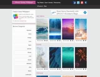 iphone5retinawallpaper.com screenshot