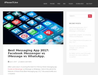 iphone7live.com screenshot