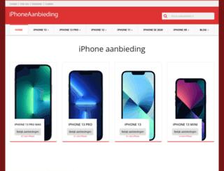 iphoneaanbieding.nl screenshot