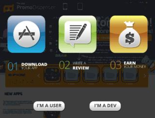 iphoneapp-promocodes.com screenshot