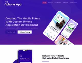 iphoneappdevelopmentcompany.com screenshot